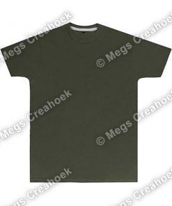 Heren t-shirt SG Military Green