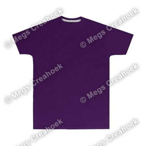 Heren t-shirt SG Purple