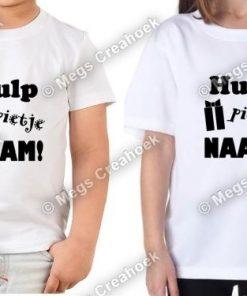 Hulp pietje + naam + cadeau