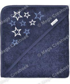 Badcape navy met sterren