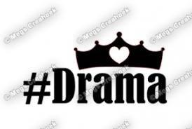 Strijkapplicatie: #Drama