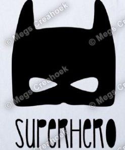 Strijkapplicatie: Superhero