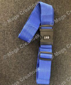 Kofferriem - blauw