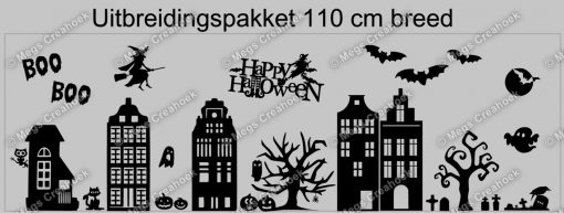 Raamsticker Halloween 110 cm