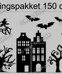 Raamsticker Halloween 150 cm
