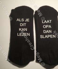 Bedrukte sokken