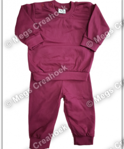 Baby Pyjama Burgundy