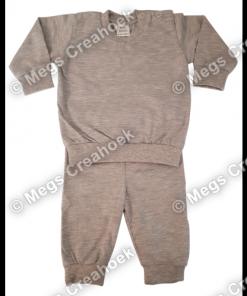 Baby Pyjama Sports Grey