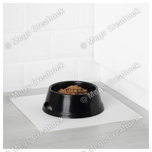 Dierenbak zwart klein