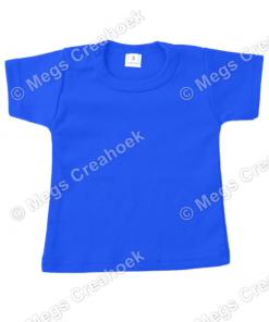 T-shirt Royaal Blauw