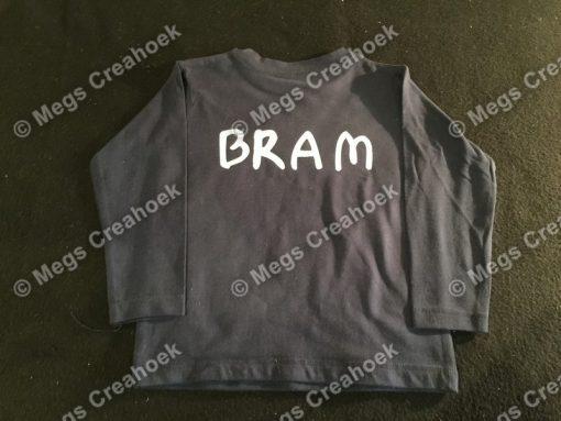 Shirt met naam (kind)