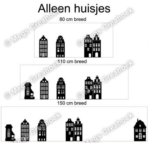 Basispakket huisjes