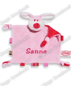 Tutpoppetje Hond Roze