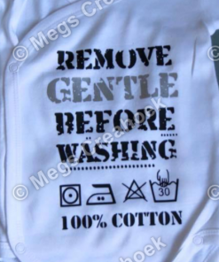Remove Gentle before washing