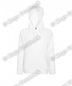 Hoodie Ladies Lightweight FOTL - white
