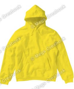 Dames Hoodie Yellow