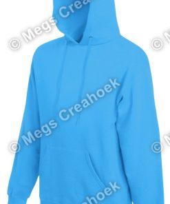 Hoodie Classic Azure Blue