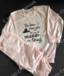 Pyjama ik hou van jou