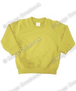 Sweater Oker Geel