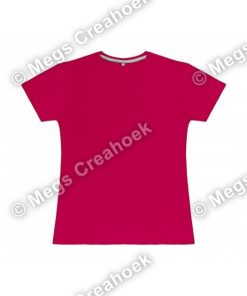 Dames t-shirt SG - Dark Pink
