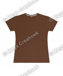 Dames t-shirt SG - Deep Taupe