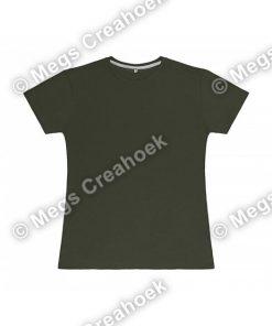 Dames t-shirt SG - Military Green