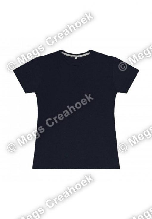 Dames t-shirt SG - Navy