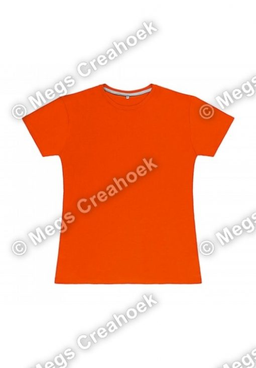 Dames t-shirt SG - Orange