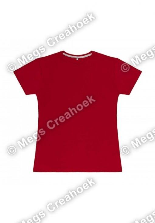 Dames t-shirt SG - Red