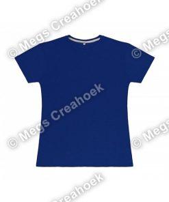 Dames t-shirt SG - Royal Blue