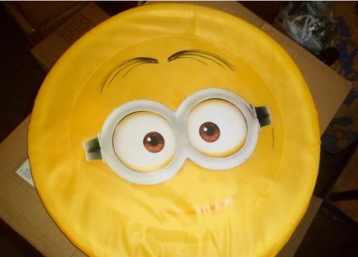 Minion frisbee