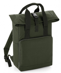 Roll-top tas - Olive Green