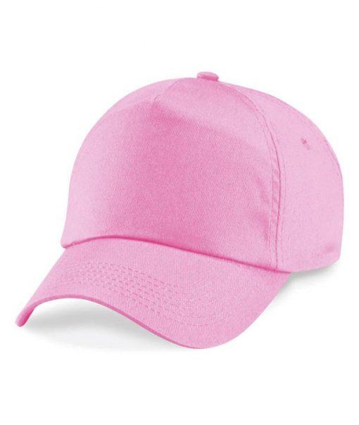 Junior 5 panel cap - Classic Pink