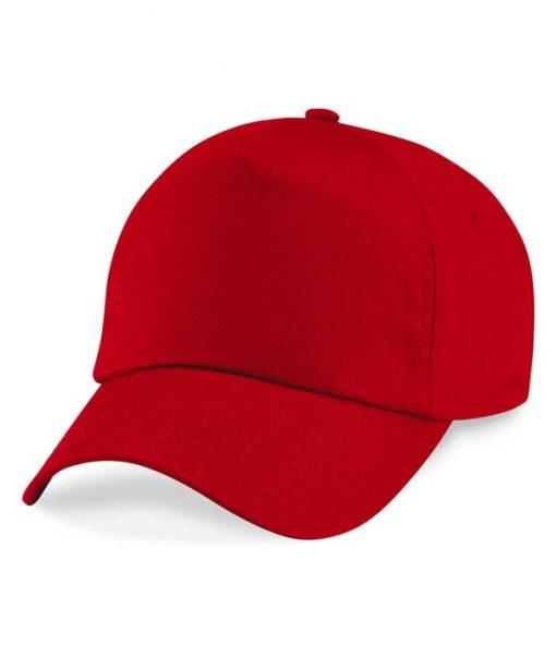 Junior 5 panel cap - Classic Red