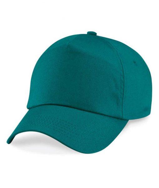 Junior 5 panel cap - Emerald