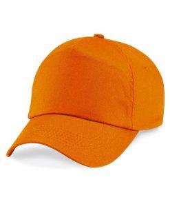 Junior 5 panel cap - Orange