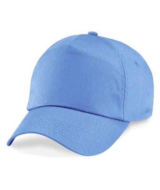Junior 5 panel cap - Sky Blue